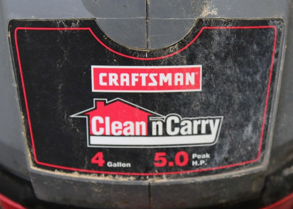 craftsman clean and carry 4 gallon manual