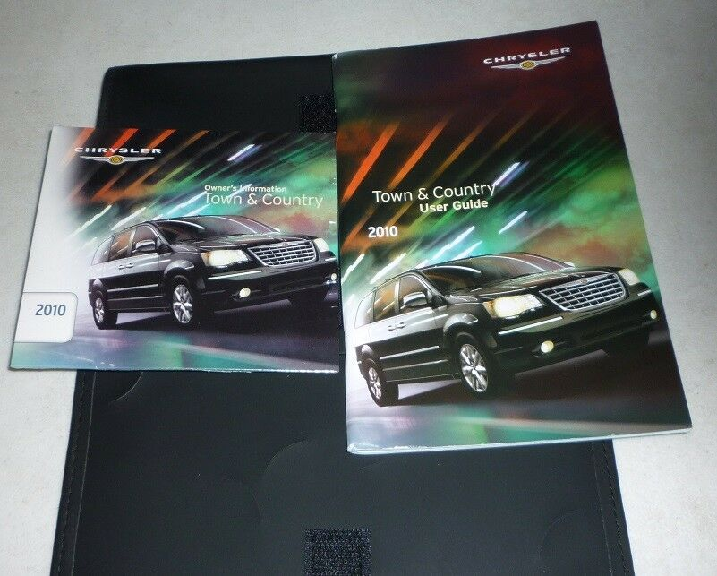 2010 chrysler town and country manual