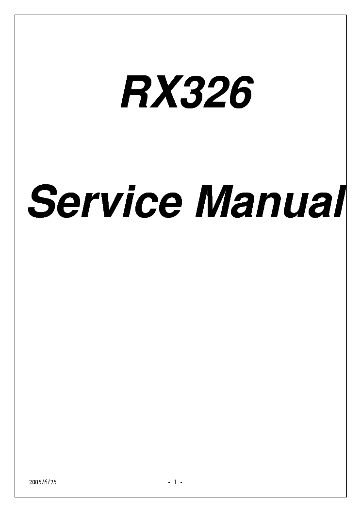 proview rx 326 user manual